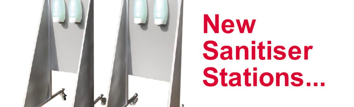 New Sanitiser Stations